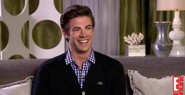 Grant Gustin Talks <i>Glee</i> With E!