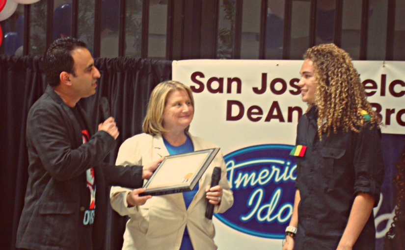 San Jose Welcomes Home 'Idol' Contestant DeAndre Brackensick