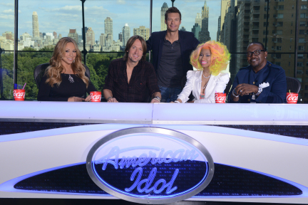 Idol Wired >> Keith Urban and Nicki Minaj Join Mariah Carey and Randy Jackson on 'Idol's' Judging Panel