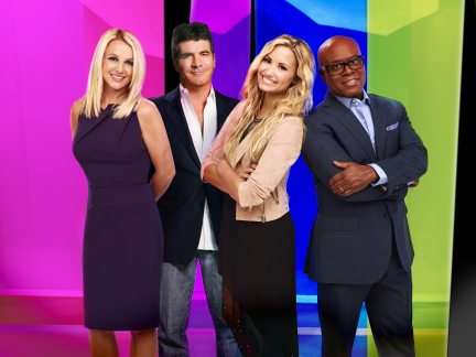 'The X Factor's' Simon Cowell Talks Britney, Demi, and Going Head-To-Head With 'TheVoice'