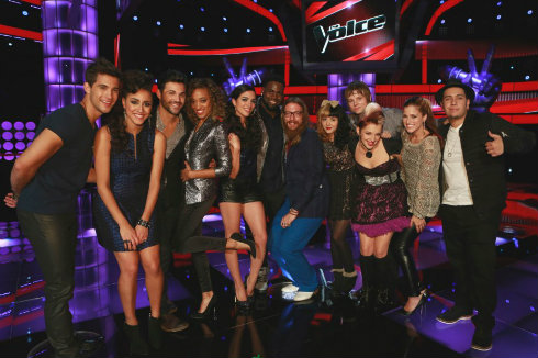 The Voice >> Meet The Top 12!