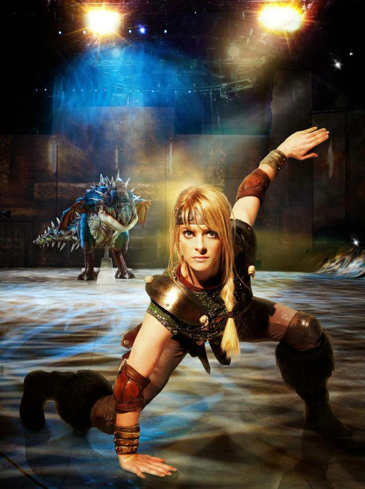 Sarah McCreanor on the 'How To Train Your Dragon Live Spectacular'