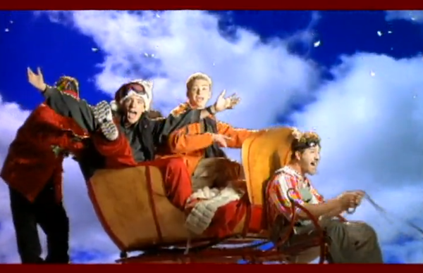"""Song of the Week >> *NSYNC – """"Merry Christmas, HappyHolidays"""""""
