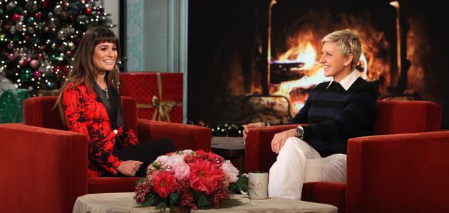 "Lea Michele performs ""Cannonball"" on 'Ellen'"