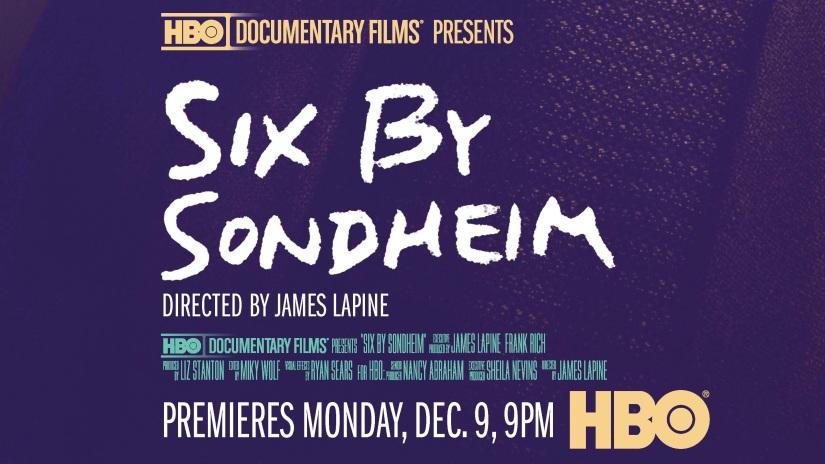 'Six By Sondheim' debuts tonight onHBO