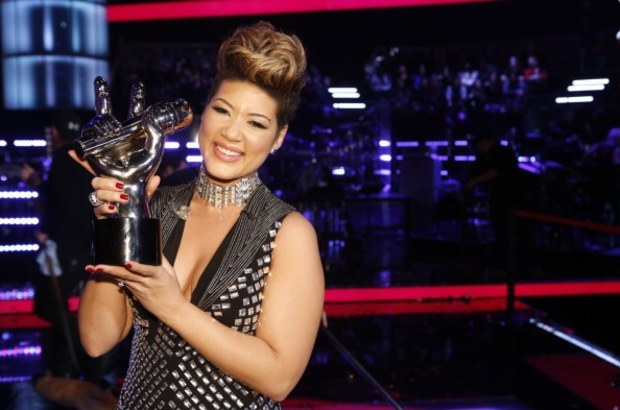 Tessanne Chin wins Season Five of 'The Voice'