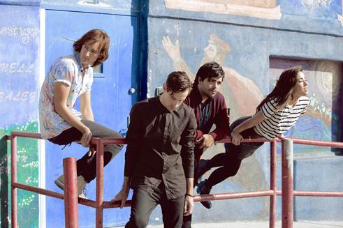 """The Colourist perform """"We Won't Go Home"""" on 'The Late LateShow'"""