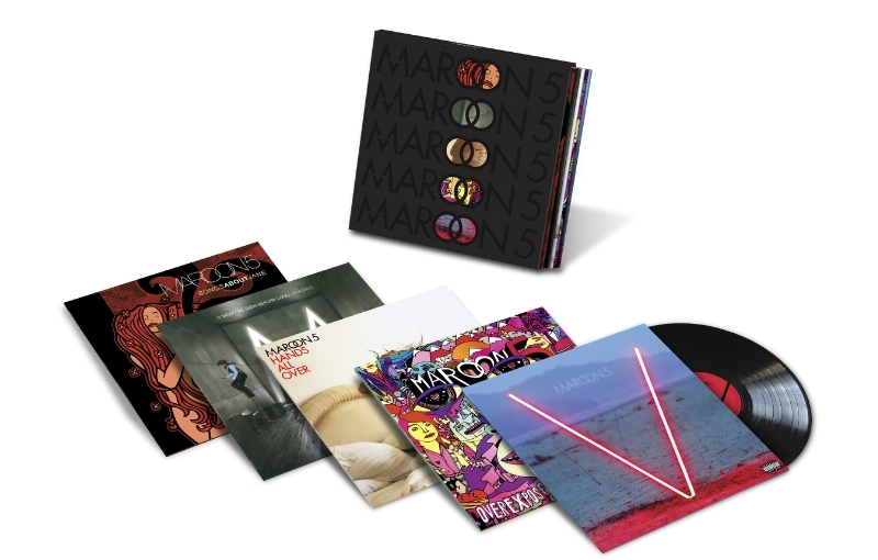 Maroon 5 to Release Limited Edition Five-LP Box Set in September