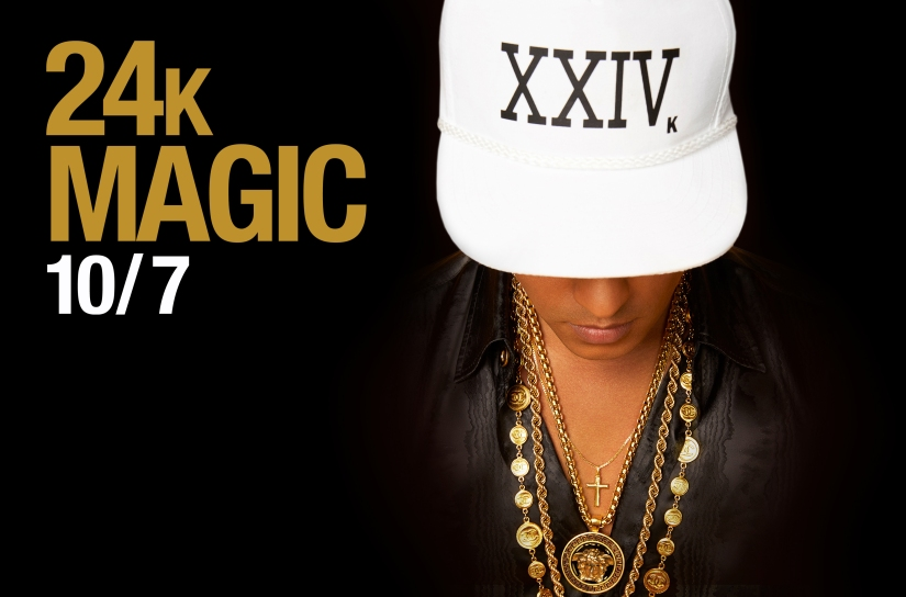 "Bruno Mars To Release ""24K Magic"" on October 7"