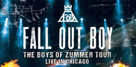 Review >> Fall Out Boy – 'The Boys of Zummer Tour: Live in Chicago'DVD